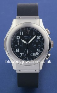 18ct White Gold Hublot MDM Chronograph Ref: 1810.4