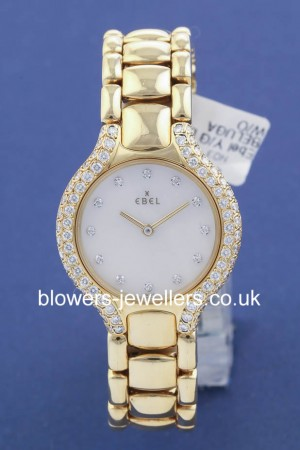 Ladies 18ct Yellow Gold Ebel