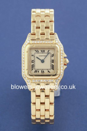 18ct Yellow Gold Cartier Panthere