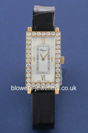 18ct Yellow Gold Ladies Chopard Classique Femme 136973-0001