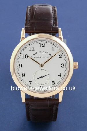18ct Rose Gold A Lange & Sohne 1815 Ref: 206.032