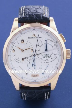 18ct Pink Gold Jaeger LeCoultre Duometre A Chronographe Q6012420