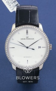 18ct white gold Girard Perregaux 1966