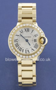 Yellow Gold Cartier Ballon Bleu WE9001Z3