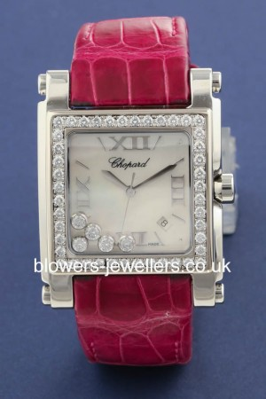 Chopard Steel Happy Sport 2 Square XL. reference 28/8448-20.