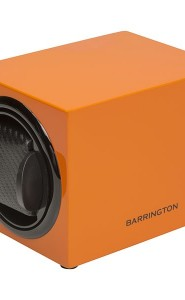 Single Watch Winder Burnt Amber