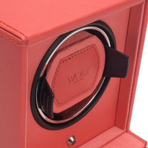 Wolf Cub Watch Winder in Coral