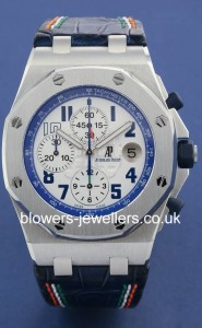 Audemars Piguet Royal Oak Sachin Tendulkar Limited Edition. 26182ST.OO.D018CR.01