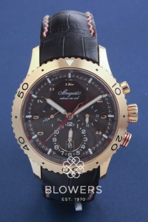 18ct Pink Gold Breguet Type XXII chronograph reference 3880BR/Z2/9XV