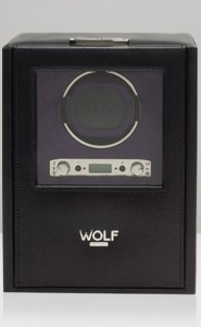 Wolf Blake Watch Winder in Black