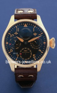 18ct Rose Gold IWC The Big Pilot's Watch
