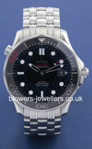 Omega Seamaster Professional reference 212.30.41.20.01.005. James Bond 007