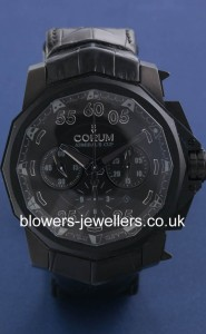 Corum Admirals Cup Black Hull 48 model reference 753.934.95