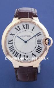 18ct Rose Gold Cartier Ballon Bleu. Automatic movement
