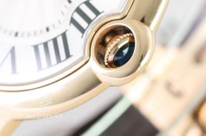18ct Rose Gold Cartier Ballon Bleu