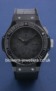 Hublot Big Bang All Black Chronograph 301.CI.1110.RX.1900
