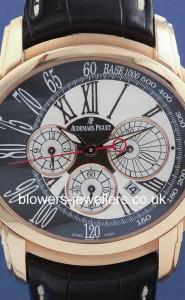 18ct Pink Gold Audemars Piguet Millenary Chronograph 26145OR.OO.D093.CR.01