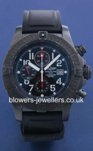 Black Steel Breitling Super Avenger Chronograph M13370