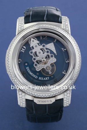 Platinum Ulysse Nardin Freak Ref 029-80 Diamond Heart
