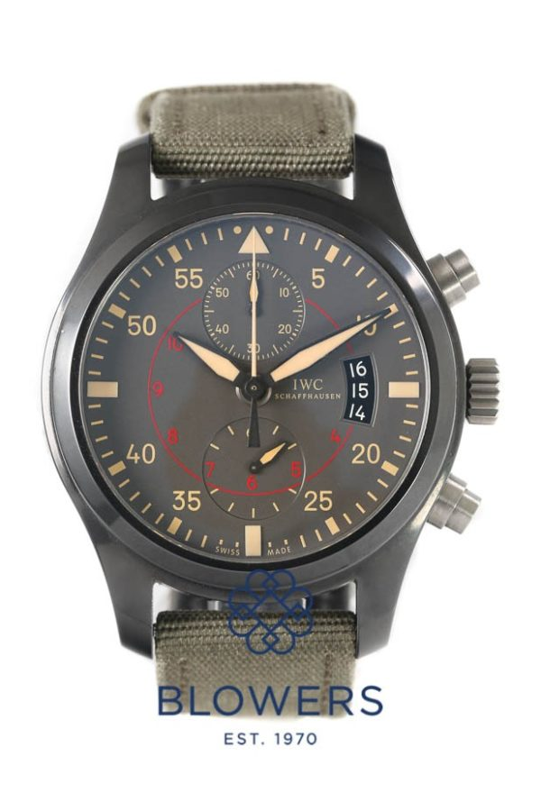 Ceramic/Titanium IWC Big Pilots Watch