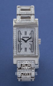 18ct White Gold Bulgari Rettangolo