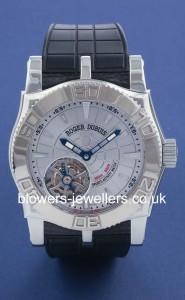 Roger Dubuis Easy Diver Flying Tourbillon 'Just for Friends' SE48 029/0 3.53
