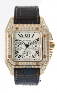 Cartier Santos 100 XL Chronograph WM502351