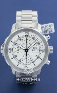 IWC Aquatimer Chronograph IW3768-02