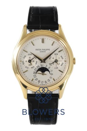 18ct Yellow Gold Patek Philippe Perpetual Calendar 3940J