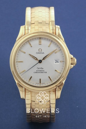 18ct Yellow Gold Omega De Ville Co-Axial Chronometer 4831.30.00