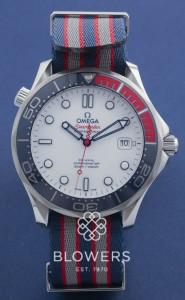 Omega Seamaster Diver 300M Commander's Watch 212.32.41.20.04.001