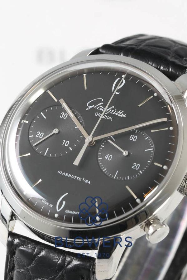 Glashutte Sixties Senator Chronograph 393.402.22.04.