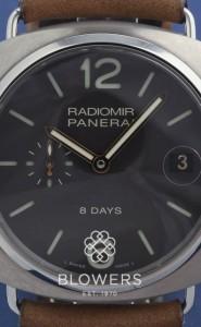 Titanium Panerai Radiomir 8 Days Titanio PAM 00346