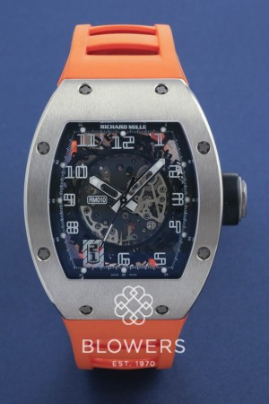 18ct White gold Richard Mille RM 010