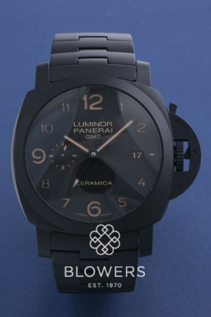 Panerai Tuttonero Luminor 1950 3 days GMT Automatic Ceramica PAM00438