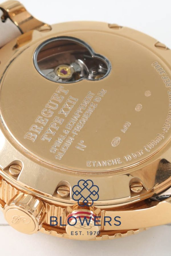 Breguet Type XXII chronograph reference 3880BR/Z2/9XV
