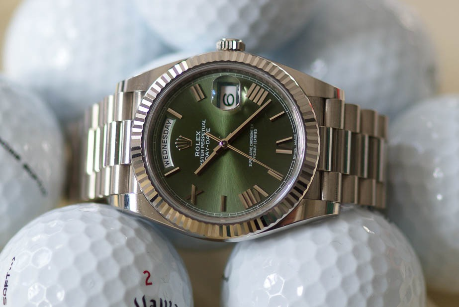 Rolex at The Masters, Rolex Day-Date, Green dial