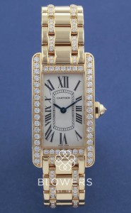 18ct Cartier Tank Americaine