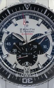 Zenith El Primero Stratos Flyback Blashford Ltd Edition 30.2062.405/07.M2060