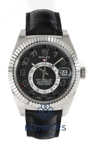 18ct White Gold Rolex Oyster Perpetual Sky-Dweller Ref 326139