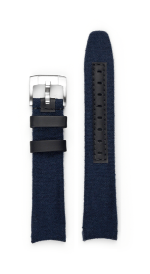Everest Curved End Nylon Strap - Blue