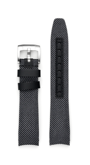 Everest Curved End Nylon Strap - Gray
