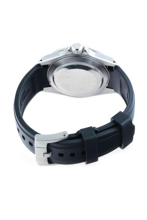 Everest Rolex Rubber Strap Black
