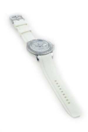 Everest Rolex Rubber Strap White