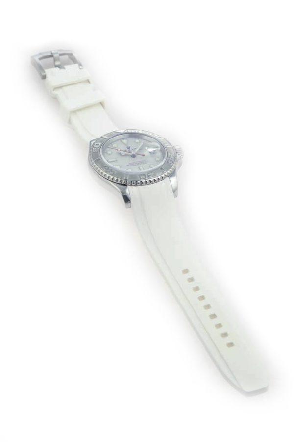 Everest Rolex Rubber Strap White