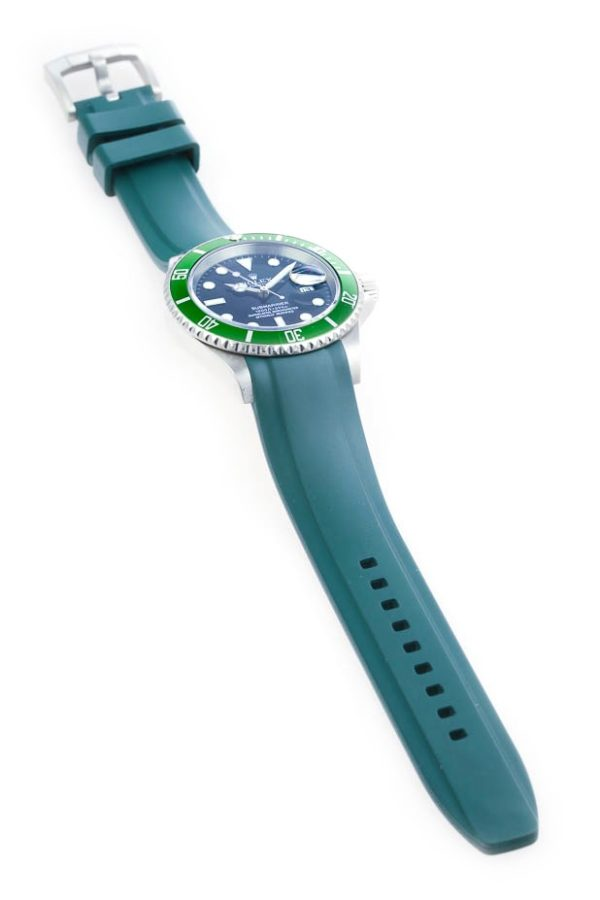 Everest Rolex Rubber Strap Green