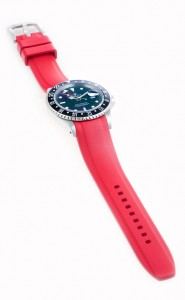Everest Rolex Rubber Strap Red