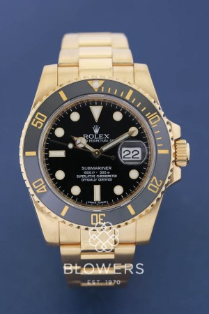 18ct Rolex Oyster Perpetual Submariner Date 116618LN