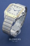 Cartier Gents Bi-Metal Santos W2SA0006