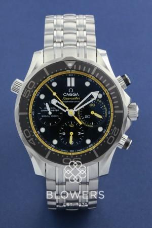 Omega Seamaster Regatta Diver 300m Co-Axil Chronograph. 212.30.44.50.01.002